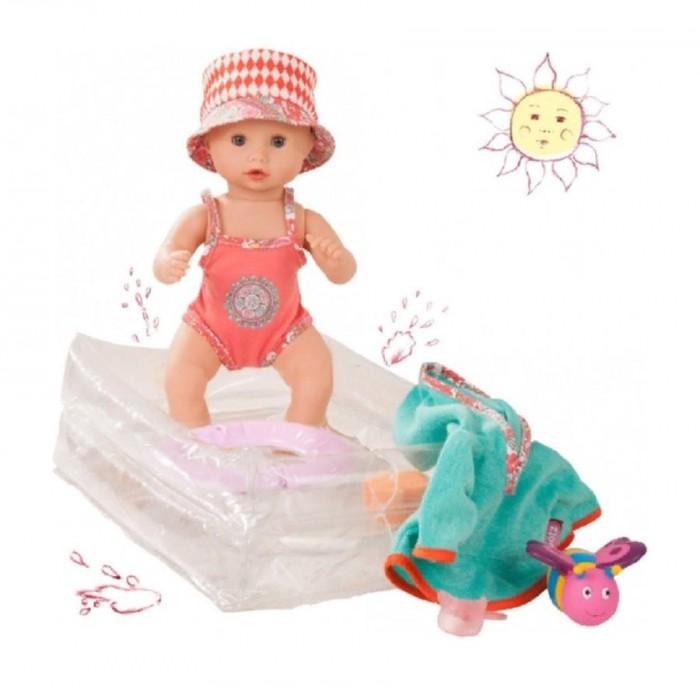 Gotz Кукла Аквини девочка с пляжными аксессуарами 33 см
