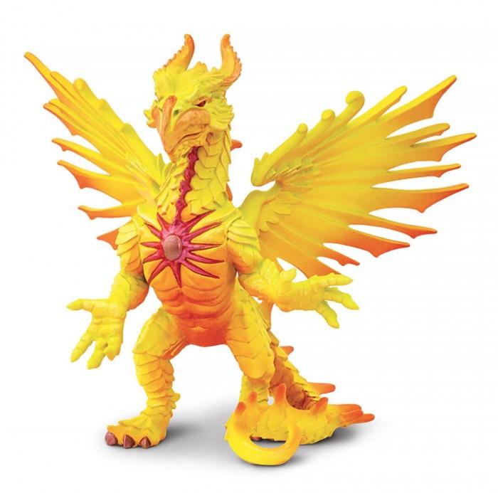 Игровые фигурки Safari Ltd. Солнечный дракон игровые фигурки safari ltd набор фигурок лягушки 72 шт