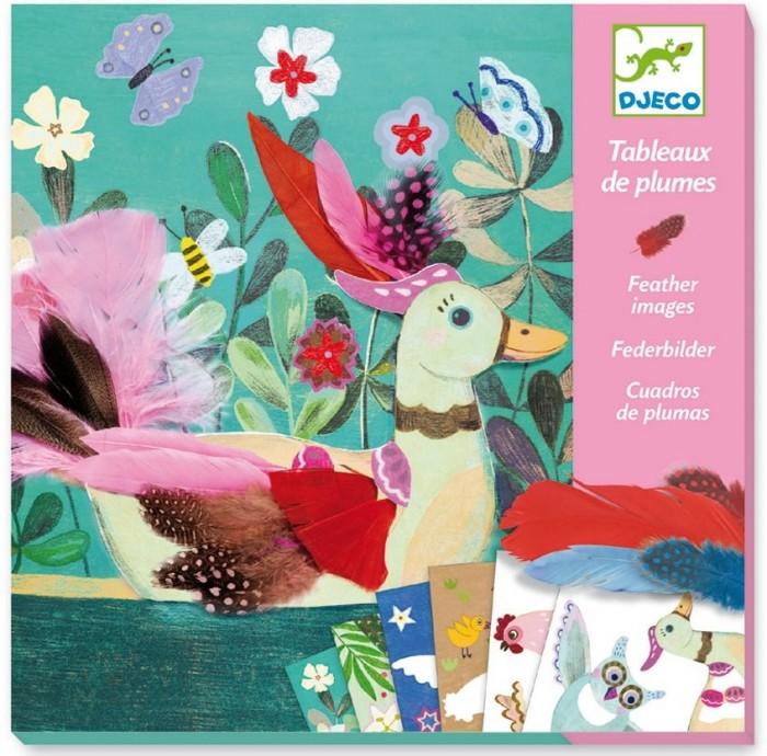 Творчество и хобби , Наборы для творчества Djeco Набор для творчества Райские птички арт: 542931 -  Наборы для творчества
