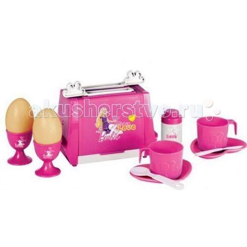 Ролевые игры Faro Игровой набор для завтрака Барби hasbro play doh игровой набор из 3 цветов цвета в ассортименте с 2 лет