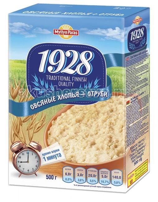Каши Myllyn Paras Хлопья овсяные с отрубями 500 г пудовъ ржаной хлеб с клюквой и анисом 500 г