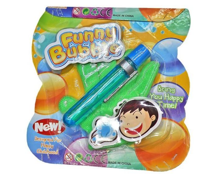 где купить Мыльные пузыри Наша Игрушка Мыльные пузыри не лопающиеся с перчаткой 20 мл дешево