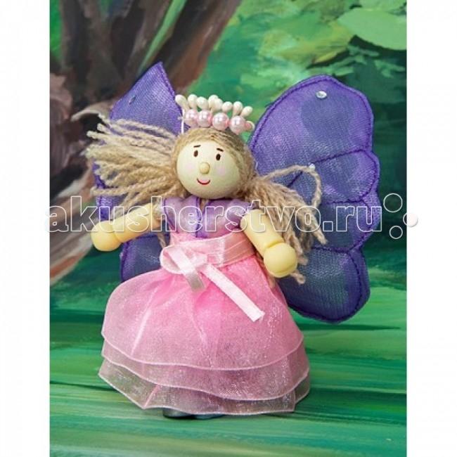 Куклы и одежда для кукол LeToyVan Кукла Фея бабочек Флеур letoyvan кукла индийская танцовщица жасмин