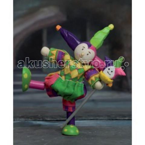Куклы и одежда для кукол LeToyVan Кукла Шут деревянные игрушки letoyvan игровой набор кролик и морковка