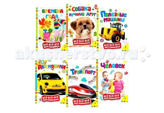 Раннее развитие Росмэн Комплект Обучающие книжки для мальчиков росмэн комплект для мальчиков книжки игрушки