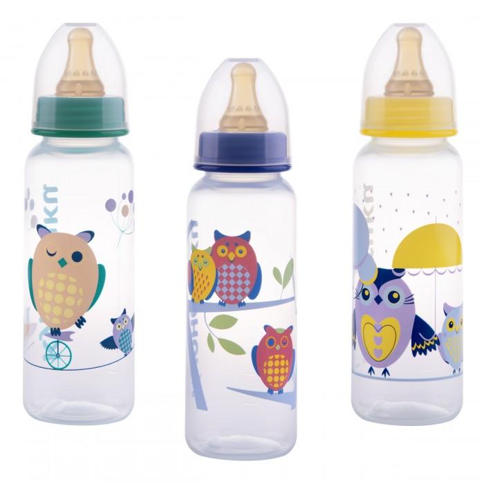 Бутылочки Курносики пластик латексная соска 250 мл бутылочки chicco стекло соска латекс 150 мл