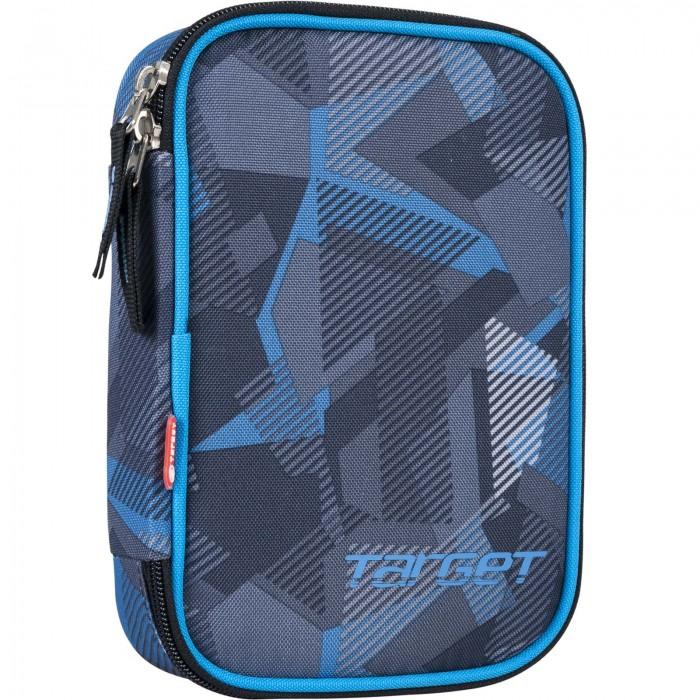Развитие и школа , Пеналы Target Collection пенал с канцтоварами Blue Crash арт: 544011 -  Пеналы