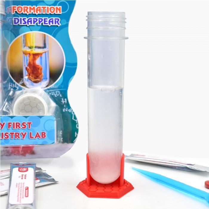 Наборы для опытов и экспериментов Alpha Science Набор Мини-эксперимент Мой первый химический эксперимент наборы для опытов и экспериментов alpha science набор мини эксперимент исчезающая вода
