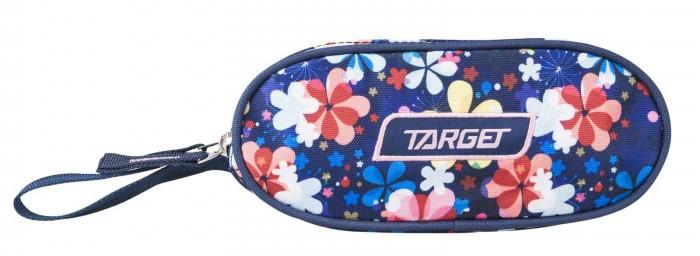 Пеналы Target Collection пенал овальный Flower канцелярия mealux пенал для карандашей
