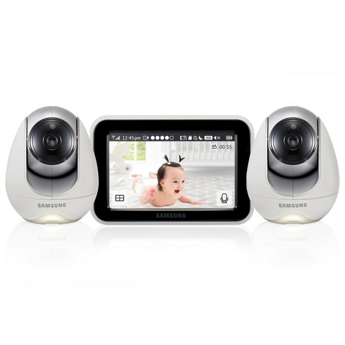 Безопасность ребенка , Видеоняни Samsung Видеоняня 2 камеры SEW-3053WPX2 арт: 544451 -  Видеоняни