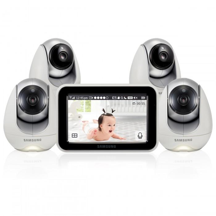 Безопасность ребенка , Видеоняни Samsung Видеоняня 4 камеры SEW-3053WPX4 арт: 544561 -  Видеоняни
