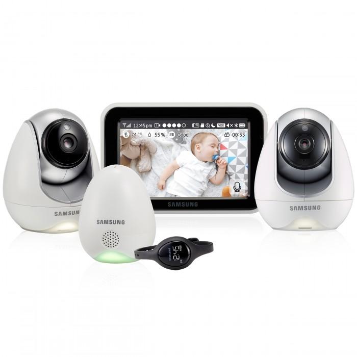 Безопасность ребенка , Видеоняни Samsung Видеоняня 2 камеры SEW-3057WPX2 арт: 544571 -  Видеоняни