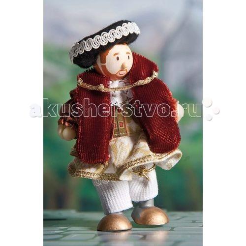 Куклы и одежда для кукол LeToyVan Кукла Король Генри VIII letoyvan кукла индийская танцовщица жасмин