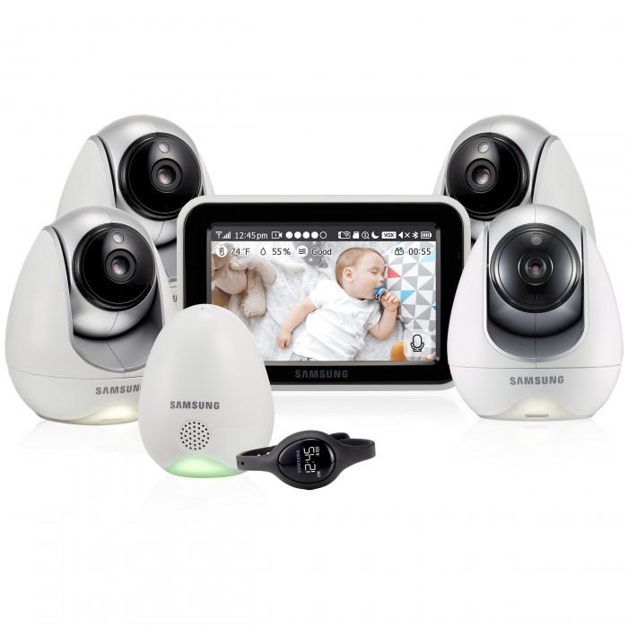 Безопасность ребенка , Видеоняни Samsung Видеоняня 4 камеры SEW-3057WPX4 арт: 544601 -  Видеоняни