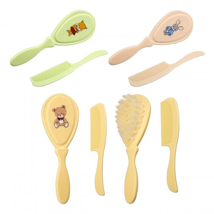 Уход за малышом Курносики Набор: расческа и щетка набор крем kora набор spa лифтинг уход набор