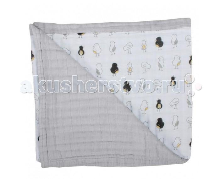 Постельные принадлежности , Одеяла Bebe au Lait Bamboo Muslin Pipit and Pebble 122x122 см арт: 545031 -  Одеяла