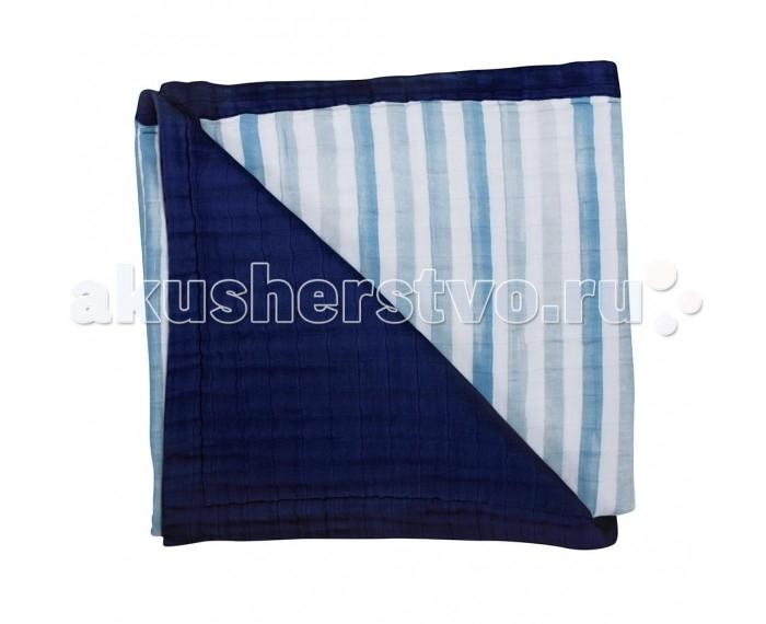 Постельные принадлежности , Одеяла Bebe au Lait Bamboo Muslin Sailor and Carmel 122x122 см арт: 545046 -  Одеяла