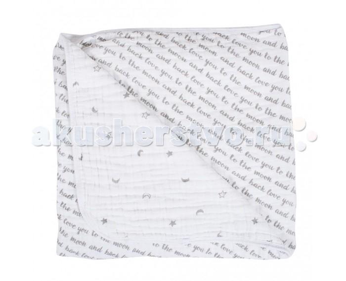Постельные принадлежности , Одеяла Bebe au Lait муслиновое Love and Luna 122х122 см арт: 545111 -  Одеяла