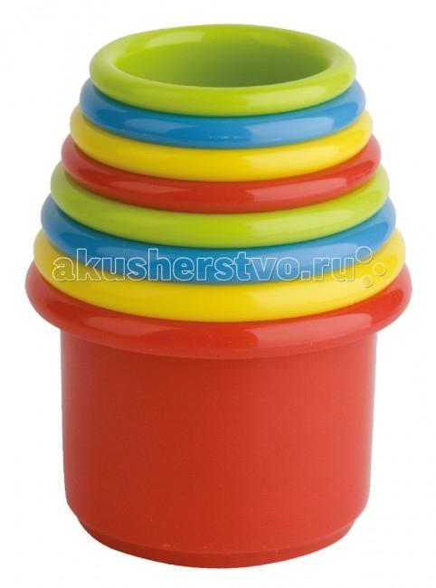 Развивающие игрушки Курносики Пирамидка Веселая радуга краснокамская игрушка пирамидка радуга