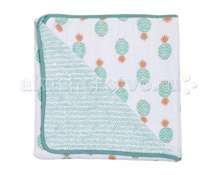 Постельные принадлежности , Одеяла Bebe au Lait муслиновое Oahu and Zig-Zag 122х122 см арт: 545141 -  Одеяла