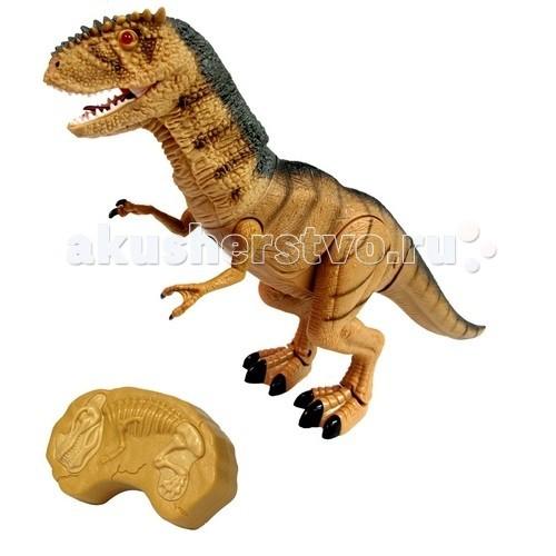 Интерактивная игрушка Dragon Динозавр на инфракрасном управлении ТирранозаврДинозавр на инфракрасном управлении ТирранозаврИнтерактивная игрушка Dragon Динозавр на инфракрасном управлении Тирранозавр - серия Мегазавры - это фигурки динозавров и дракона от компании Dragon-i Toys. При помощи ИК управления фигурки приводятся в движение, у них загораются глаза, а кроме этого, они начинают издавать величественный рев.  Соберите всю коллекцию и отправьтесь в увлекательное путешествие во временя Юрского периода.  Высота фигурки: 20 см.<br>