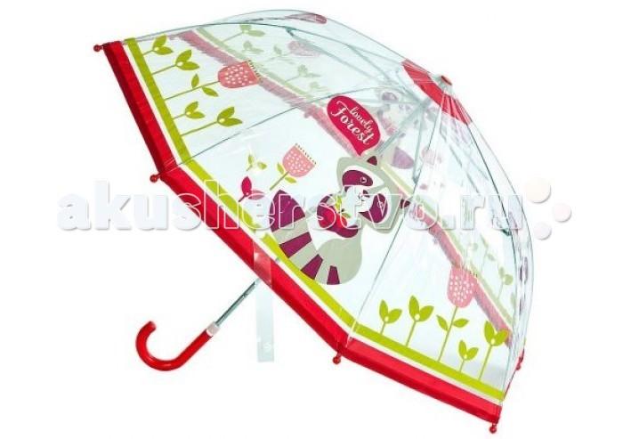 Зонты Mary Poppins Apple Forest Cherry прозрачный 46 см недорого