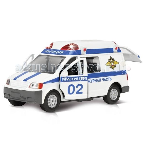 Машины Технопарк Машина Микроавтобус милиция/полиция как и где купить микроавтобус