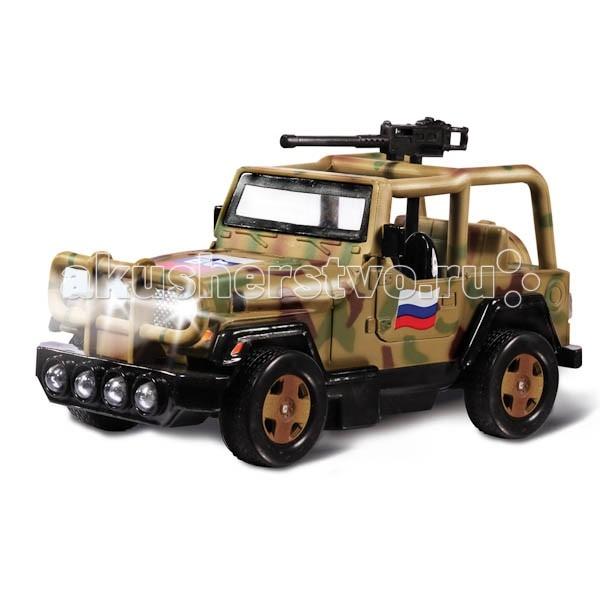 Машины Технопарк Машина Военный внедорожник s s toys 80083ear военный внедорожник