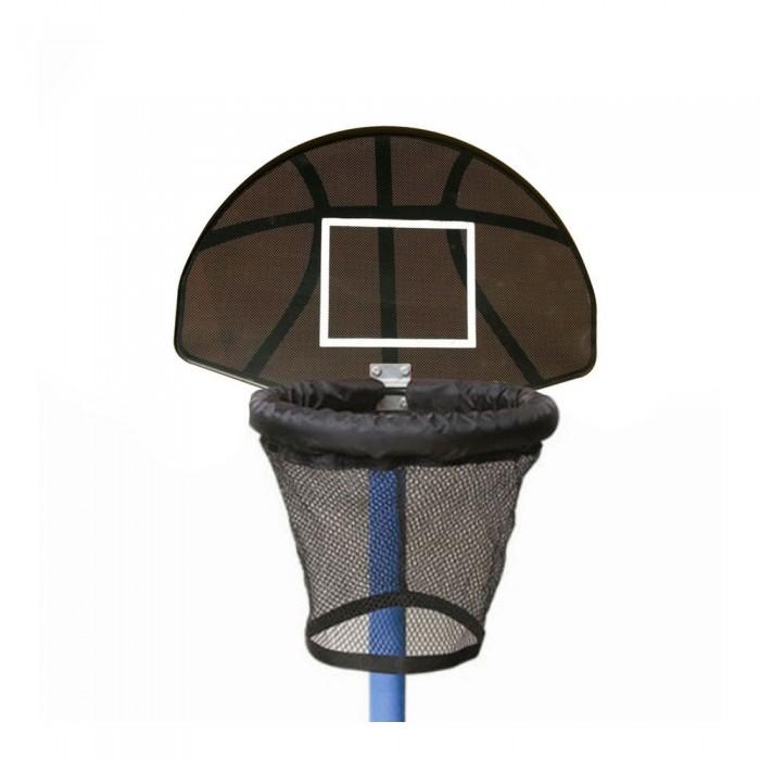 DFC Баскетбольный щит с кольцом для батута TrampolineДетские батуты<br>Баскетбольный щит с кольцом для батута Trampoline отлично подойдет для каких только вам вздумается бросков с батута!