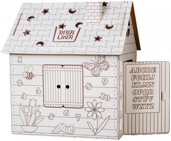 Игровые домики Bibalina Дом-раскраска Английский алфавит