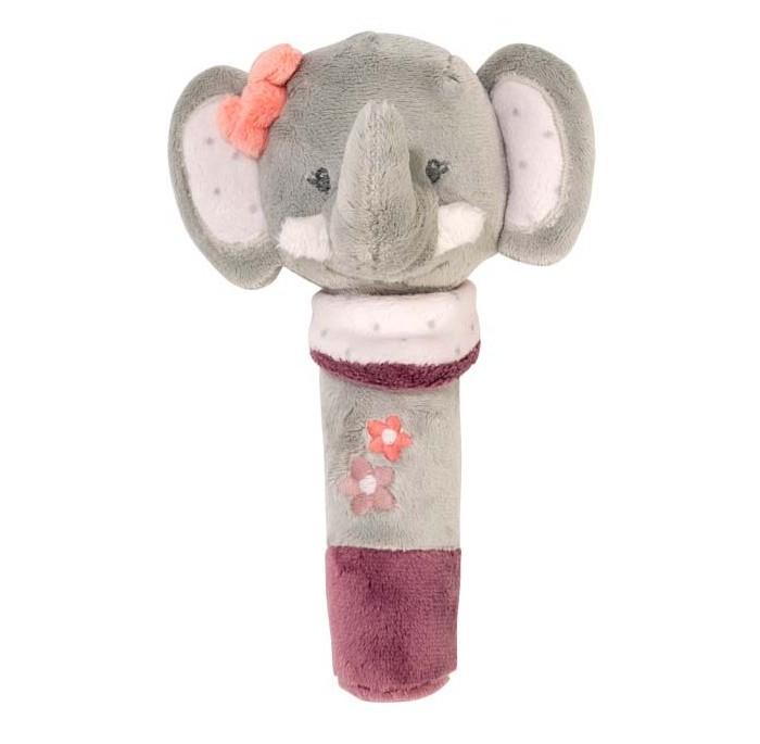 Развивающие игрушки Nattou Cri-Cris Adele Valentine Слоник игрушка мягкая nattou max noa tom лошадка 777209