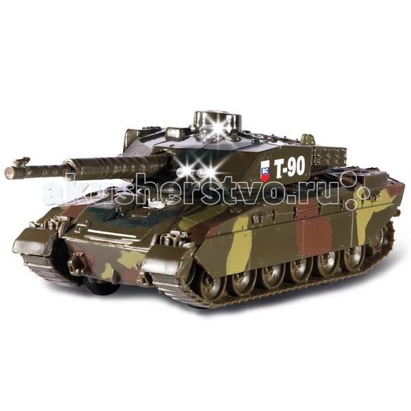 Машины Технопарк Танк T-90 13 см