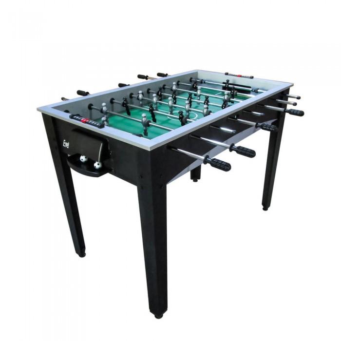 DFC Игровой стол для футбола EvertonНастольные игры<br>Представляем новую модель игрового стола - футбол DFC Everton. Настольный футбол является отличным развлечением дома или на даче.  Стол оборудован механическим табло для подсчета забитых голов.   В комплекте 2 мяча размером 30 мм. Игровой стол будет не только отличной покупкой для себя, но и прекрасным подарком. Игра в настольный футбол очень эмоциональная, захватывающая и проходит на больших скоростях. Почувствуйте звуки и атмосферу знаменитой и популярной игры!   Корпус выполнен из специально обработанного МДФ, сверху покрытого прочным пластиком.