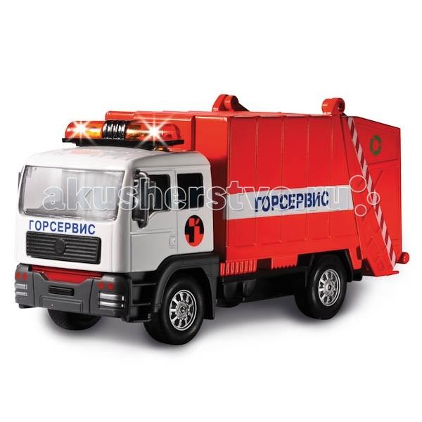 Машины Технопарк Машина Мусоровоз CT-1223G мусоровоз orion камакс мусоровоз 765 разноцветный в ассортименте