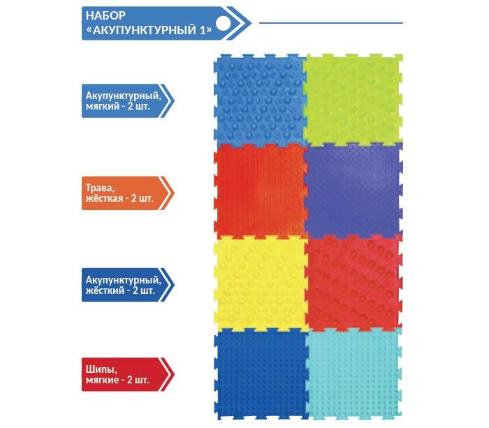 Игровые коврики ОртоДон Модульный массажный №1 Акупунктурный