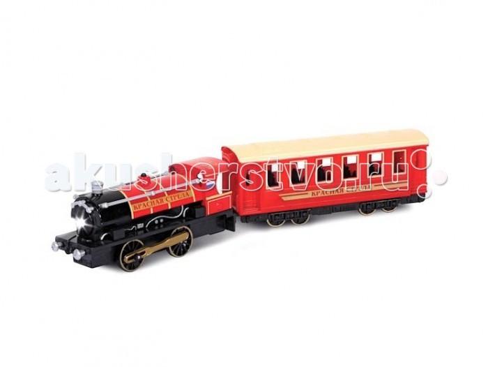 Железные дороги Технопарк Поезд с вагоном железные дороги play smart скоростной поезд молния