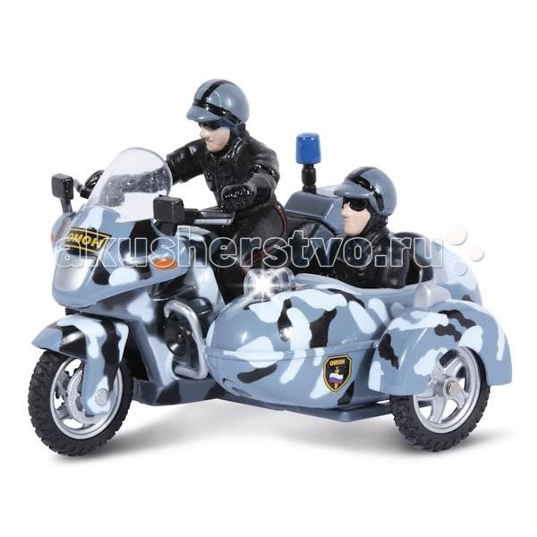 Машины Технопарк Мотоцикл Омон с люлькой какой мотоцикл до 60000рублей