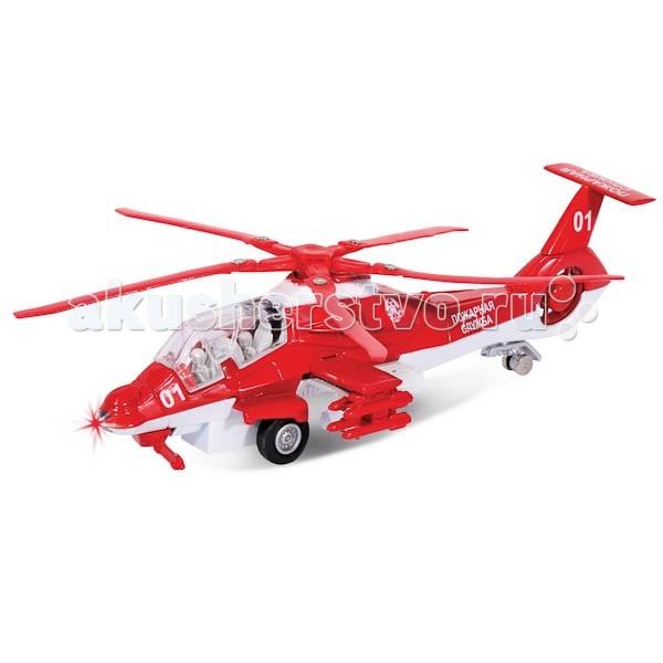 Вертолеты и самолеты Технопарк Вертолет Пожарная служба mjus низкие кеды и кроссовки