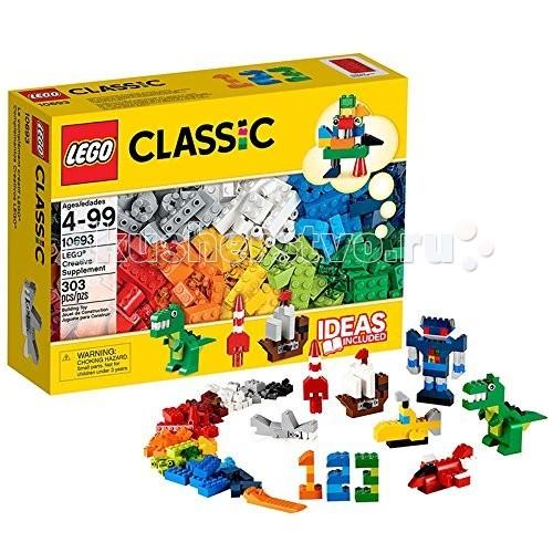 Lego Lego Classic 10692 Лего Классик Дополнение к набору для творчества Яркие цвета конструктор lego 10692 classic набор для творчества