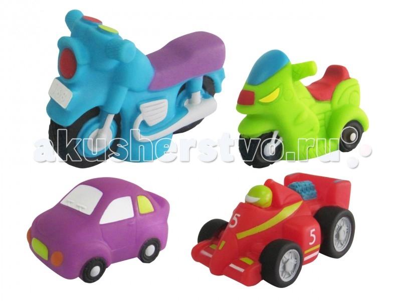 Игрушки для ванны ПОМА Набор игрушек для купания Гонки 2 игрушки для ванны пома набор для ванны транспорт 2