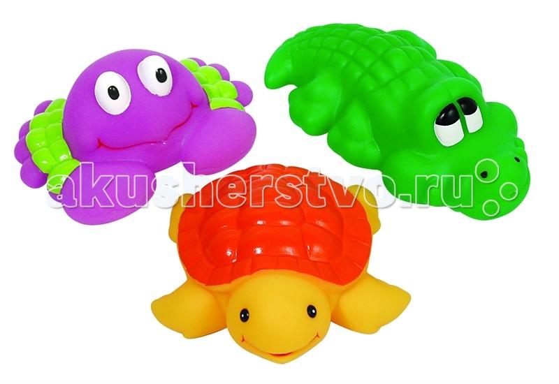 Игрушки для ванны ПОМА Набор для ванны Удивительная Африка игрушки для ванны игруша набор для ванны уточки