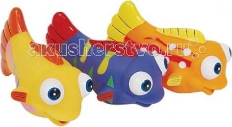 Игрушки для ванны ПОМА Набор для ванны Рыбки Красного моря игрушки для ванны tolo toys рыбки магнитные