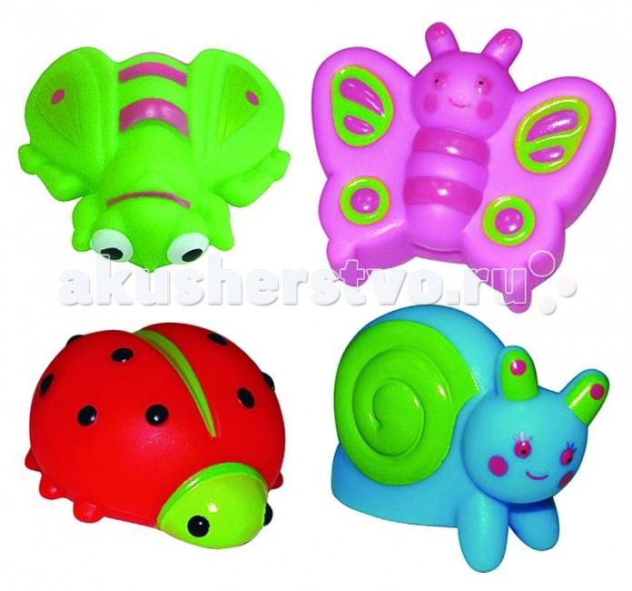 Игрушки для ванны ПОМА Набор для ванны На лужайке игрушки для ванны пома набор для ванны транспорт 2
