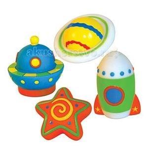 Игрушки для ванны ПОМА Набор для ванны Тайны космоса игрушки для ванны игруша набор для ванны уточки