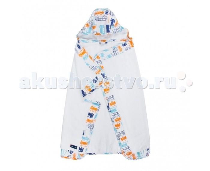 Купание малыша , Полотенца Bebe au Lait Полотенце с капюшоном Big Sur арт: 547756 -  Полотенца