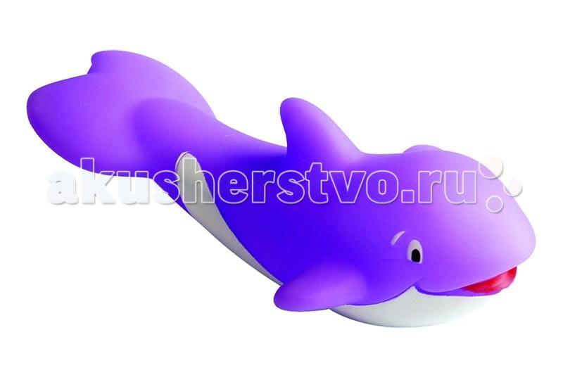 Игрушки для ванны ПОМА Игрушка для ванны Добрый кит игрушки для ванны bondibon игрушка для купания мельница кит на волнах