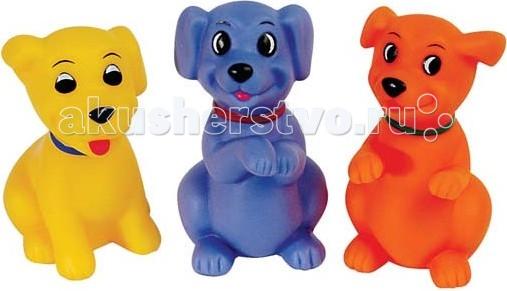 Игрушки для ванны ПОМА Набор для ванны Веселые щенки мягкие игрушки just play собачка кэнди и ее щенки