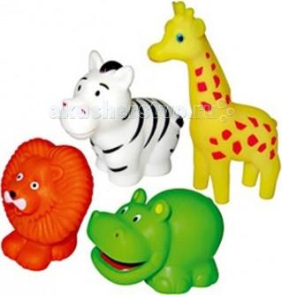 Игрушки для ванны ПОМА Набор для ванны Путешествие по Африке игрушки для ванны пома набор для ванны транспорт 2