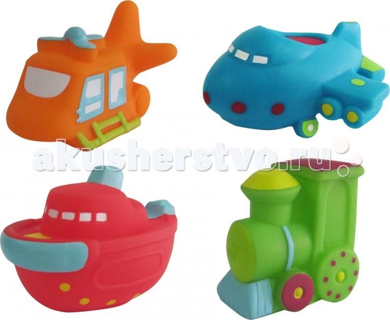 Игрушки для ванны ПОМА Набор для ванны Транспорт 2 игрушки для ванны игруша набор для ванны уточки