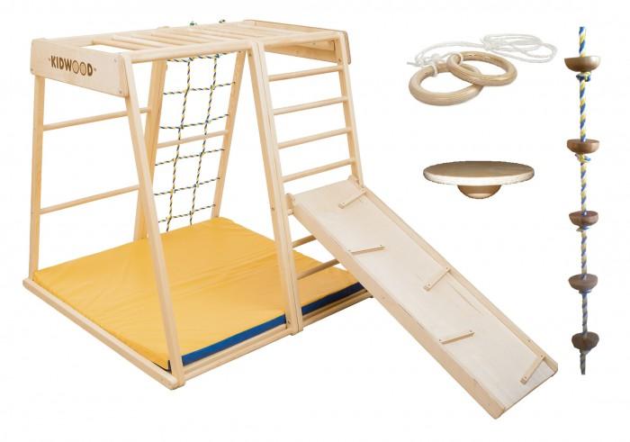 Купить Спортивные комплексы, Kidwood Деревянный игровой комплекс Парус комплектация Игра